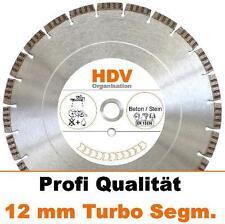 230 x 22,2 mm Turbo - Diamantscheibe 12 mm für Beton