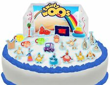 Cakeshop PRE-CUT Twirlywoos Edible Cake Scene - 23 pieces