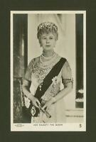 Her Majesty Queen Mary - Jubilee Portrait - Vintage Tuck's Real Photo Postcard