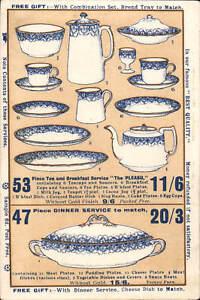 Fenton near Stoke on Trent. Chins St. Pottery Co. Advert. 3 Vivian Works.
