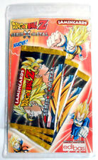 DRAGON BALL Z LAMINCARDS Serie X-Metal Lotto 3 Pacchetti Bustine Carte Figurine