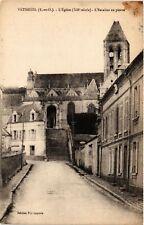 CPA   Vetheuil (S.-et-O.) - L'Église (XII siécle)- L'Escalier en pierre (519971)