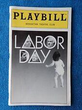 Labor Day - Manhattan Theatre Club Playbill - June 1998 - Joyce Van Patten