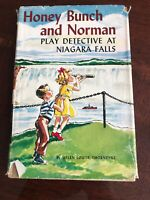 1957 Honey Bunch and Norman Play Detective At Niagara Falls by Helen Thorndyke