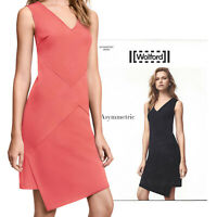 Wolford Asymmetric Dress - Gr.40 - mid coral .. Saum ist asymmetrisch abgestuft