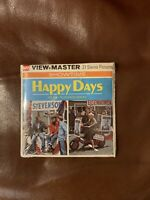 VINTAGE View-Master (GAF) HAPPY DAYS 1974  21 PICTURES  B586. SEALED