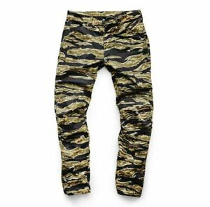G-Star Elwood X25 5622 3D Tapered Canvas Tigerstripe Camouflage Jeans Pharrell