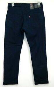 New Levis Mens 511 0089 Navy Commuter Pro Slim Fit Stretch Denim Jeans 32 x 30