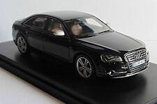 AUDI S8 V8T HAVANNA SCHWARZ 2012 SCHUCO PRO R43 450885000 1/43 BLACK NOIR HAVANE