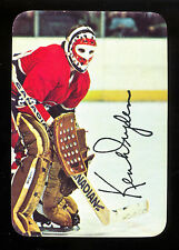 1977 78 TOPPS OPC Glossy Inserts #5 KEN DRYDEN NM MONTREAL CANADIENS HOCKEY