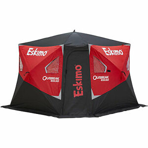 30980 Eskimo OEM Ice Fishing Shelter Ice Anchors 6 Pack Pouch