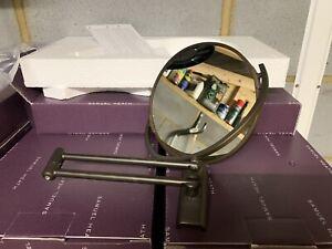 Samuel Heath NOVIS Pivotal Shaving Mirror (CITY BRONZE)