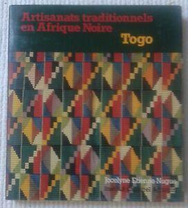 2 Livres : Artisanats traditionnels Afrique Noire BÉNIN & TOGO