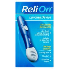 ReliOn Lancing Device Includes 10 Ultra-Thin Lancets FAST/FREE SHIPPING!! NEW