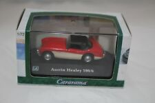 1-72 Austin Healey 100/6 Red & Cream By Cararama Diecast  NEW IN BOX.
