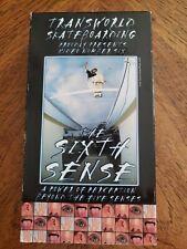 Transworld Skateboarding No. 6 - THE SIXTH SENSE (VHS, 1998)