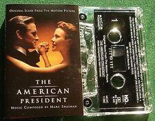 The American President OST Marc Shaiman Cassette Tape - TESTED