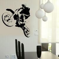 Scrambler - Motorbike Wall Stickers / Interior Decor / Bike Wall Transfer MO13