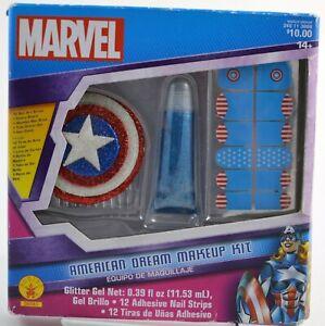 Marvel American Dream Makeup Kit by Rubies