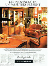 PUBLICITE ADVERTISING  016 1979  Meubles Roche-Bobois  bibliothéque Provinciales