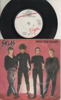 """SKIDS   Rare 1979 UK Only 7"""" OOP Post Punk Virgin P/C Single """"Into The Valley"""""""