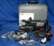 RCA CC415 Pro Edit Video Camcorder w/ Case, Accessories & Manual