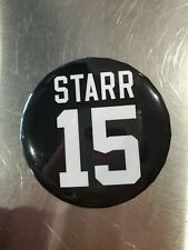 Bart Starr Pin Button Green Bay Packers NFL Sga vs Vikings 2019 official