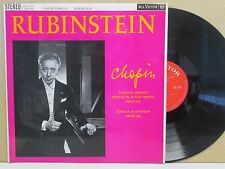 RCA SB-2151 CHOPIN Funeral March/Piano Sonata in B minor RUBINSTEIN LP (EX)