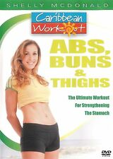Caribbean Workout with Shelly McDonald ~ ABS Buns Thighs ~ DVD ~ FREE Shipping