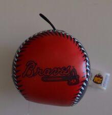MLB Atlanta Braves Logo Baseball Ornament