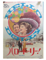 Barbra Streisand HELLO, DOLLY! original B2 movie POSTER JAPAN 1969