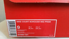 Nike Court Borough Mid Prem 42 1/2 Gris