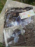 Jamiroquai Synkronized 1999 Original Japan Tour Book Program CD Concert Ticket
