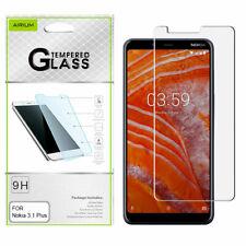 For NOKIA 3.1 PLUS Tempered Glass Screen Protector Film Guard Premium