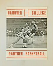 Hanover College, Rose Hulman, Earlham, Wilmington Basketball Program Feb 1979