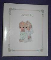 "NEW - HALLMARK PRECIOUS MOMENTS "" OUR WEDDING "" Photo Album / Scrapbook"