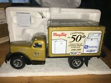 Rare 1949 International KB8 MAYTAG 50th ANNIV. TRUCK with WASHER - First Gear
