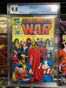 Infinity War #1 CGC 9.8 Lim and Milgrom Wraparound cover