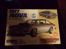 VINTAGE MPC  1977 NOVA MADE IN USA  CAR MODEL KIT