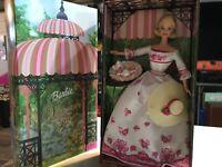 """LC-1008  Barbie doll: """"VICTORIAN TEA"""" BARBIE; 2002; blonde hair"""