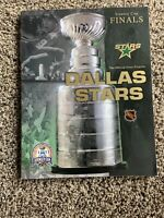 2000 DALLAS STARS NEW JERSEY DEVILS STANLEY CUP FINAL PROGRAM BRODEUR MODANO NHL