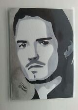 PIRATES OF THE CARIBBEAN WILL TURNER (ORLANDO BLOOM) WATERCOLOR ACEO SKETCH PSC
