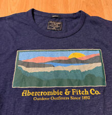 Abercrombie And Fitch Outdoor Outfitters T-Shirt Size Men's 2XL XXL NEW