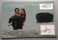 Aidan Turner Eleanor Tomlinson POLDARK Signed 12x18 Display 2 AFTAL