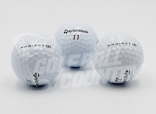 24 TaylorMade Project (A) Logos Near Mint AAAA Used Golf Balls - FREE Shipping