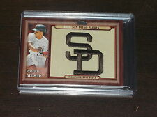 2011 TOPPS ROBERTO ALOMAR COMMEMORATIVE PATCH BASEBALL CARD SAN DIEGO PADRES