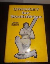 Cricket For South Africa  Book  - Jackie McGlew 1961