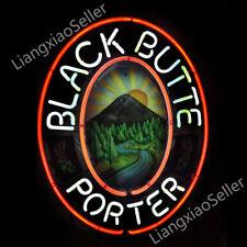 Black Butte Porter Beer Bar Real Glass NEON LIGHT SIGN Business DISPLAY