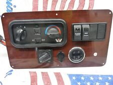 D3 F4 Western Star PANEL SLEEPER CONTROL LARGE AT2K CHERRY WITH ACCESSORIES