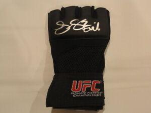JESSICA EYE SIGNED UFC GEL TRAINING GLOVE MMA STAR EXACT PROOF EVIL RONDA ROUSEY